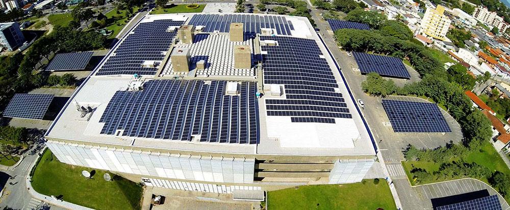 Projeto Megawatt Solar da Eletrosul em Florianópolis - SC