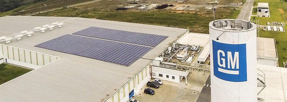 Energia Solar em Joinville – GM instala 350kW de Energia Solar em sua fábrica
