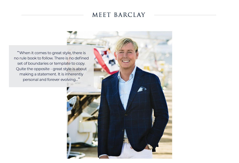 Meet Barclay