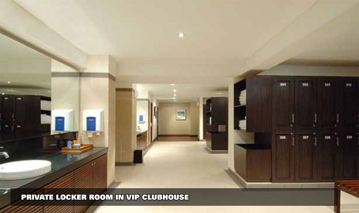 VIP Private Locker Room