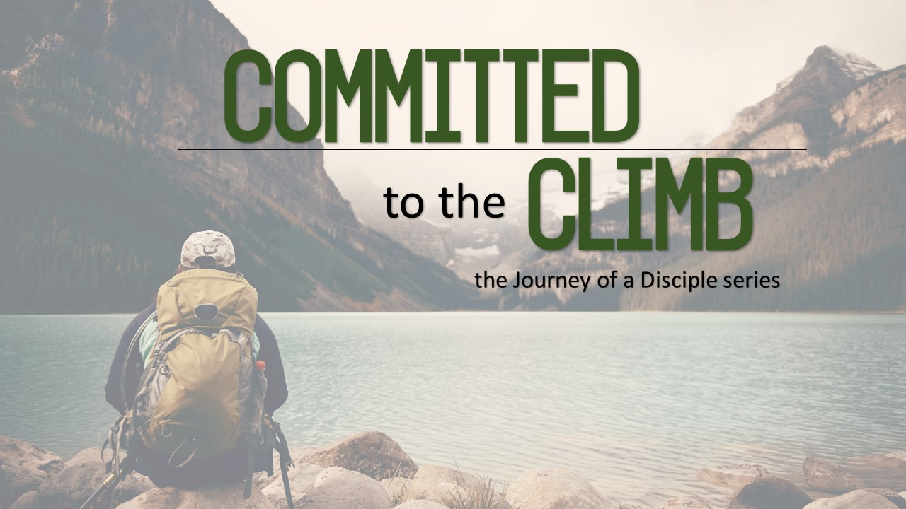 Committed to the Climb Image