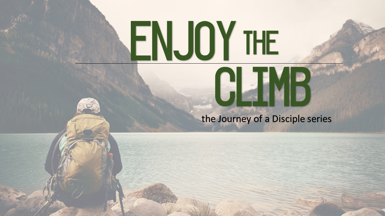 Enjoy the Climb Image