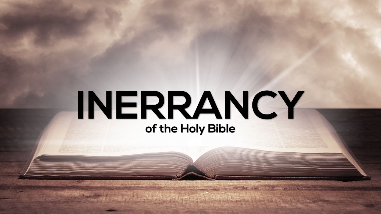 Inerrancy of the Holy Bible Image