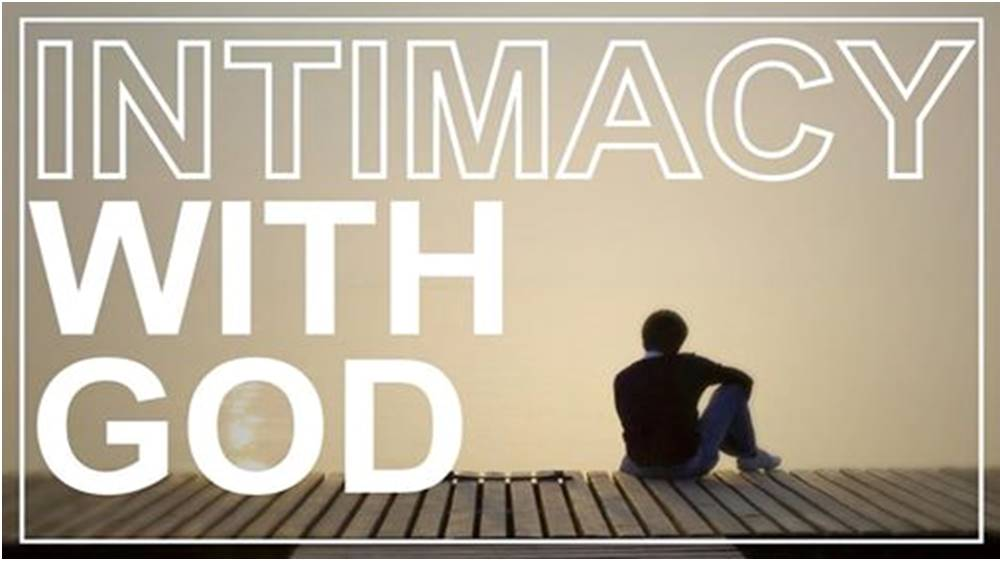 Intamcy with God Image