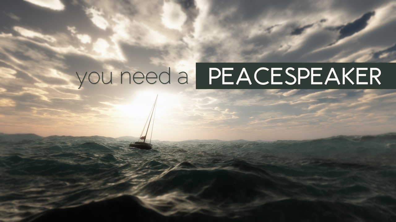 You need a Peacespeaker Image