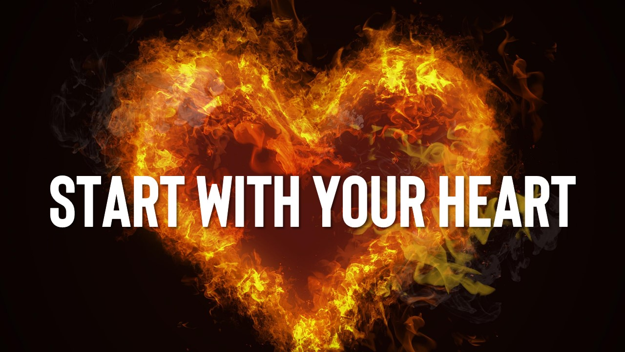 Start With Your Heart Image