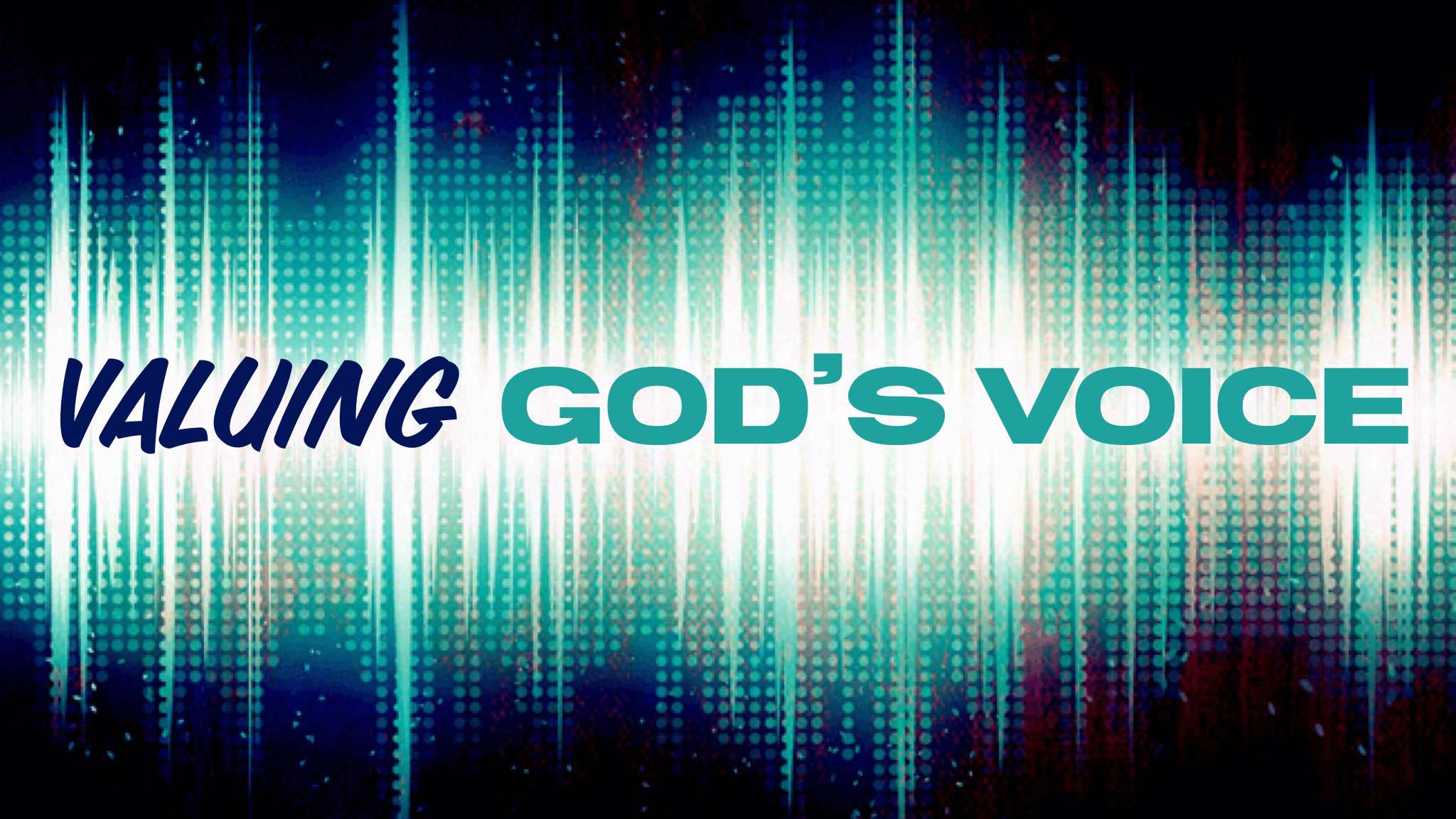 Valuing God\'s Voice Image