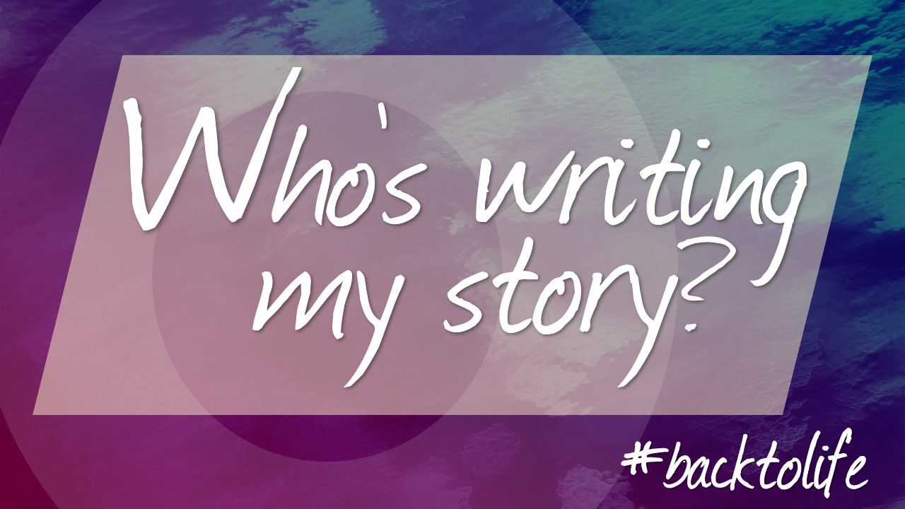 Who\'s Writing Your Story Image