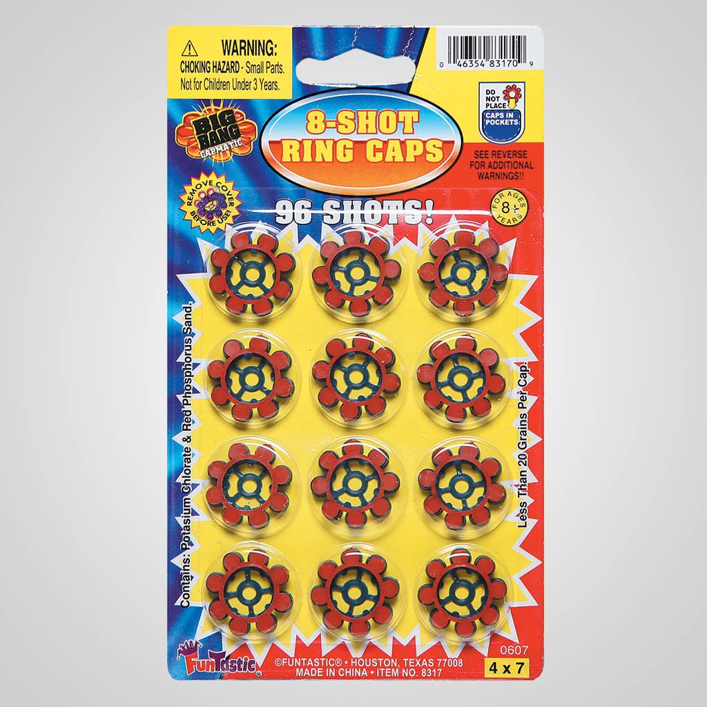 61131 - 8-Shot Ring Caps