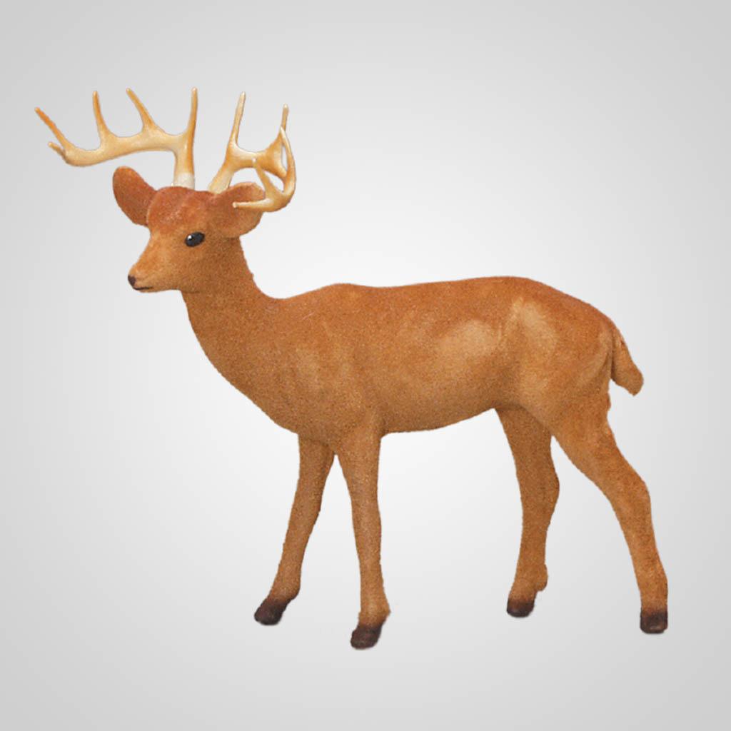 61257 - Flocked Buck