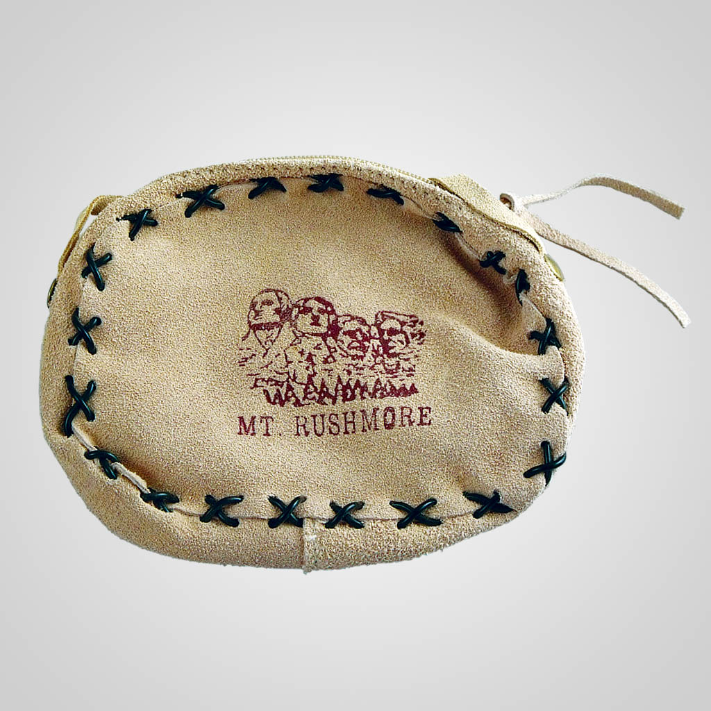61531MTR - Mt. Rushmore Leather Laced Purse
