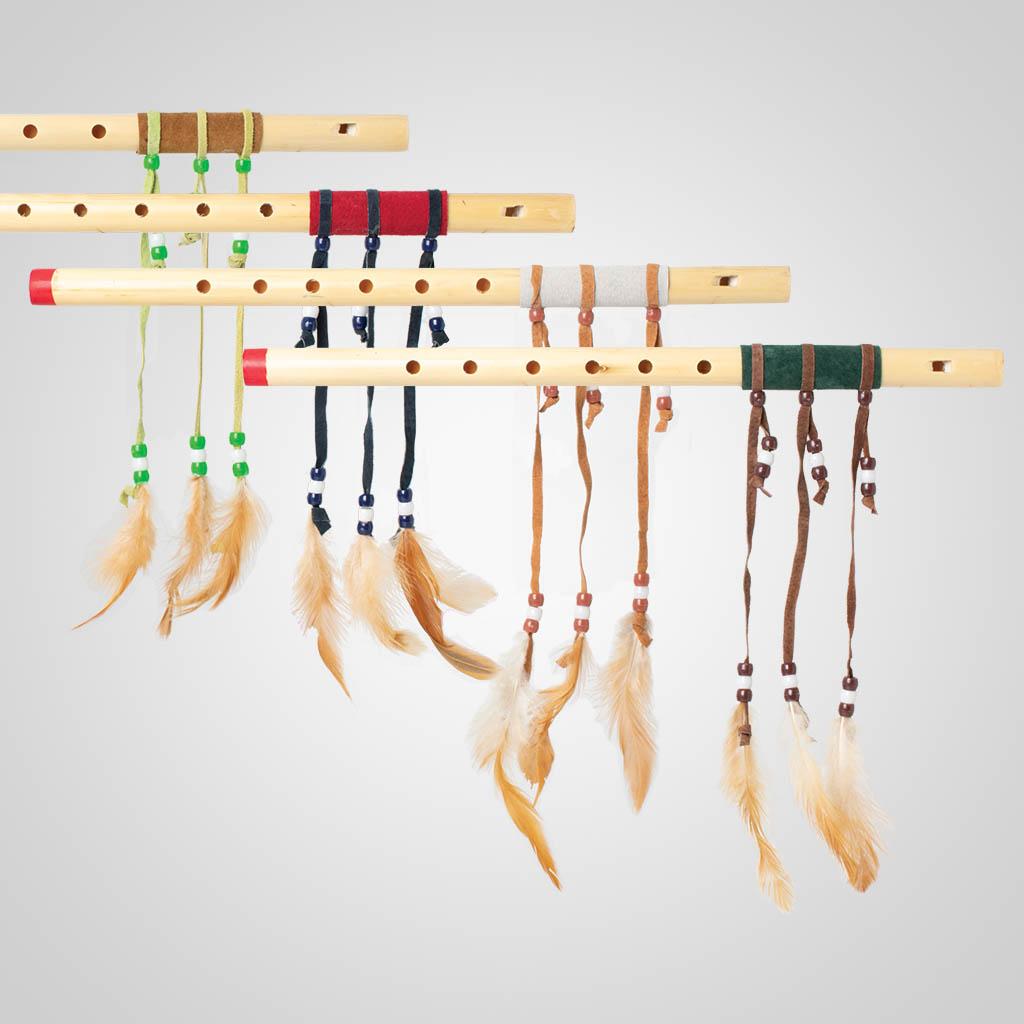 61832IM - Wood Flute, Name-Drop