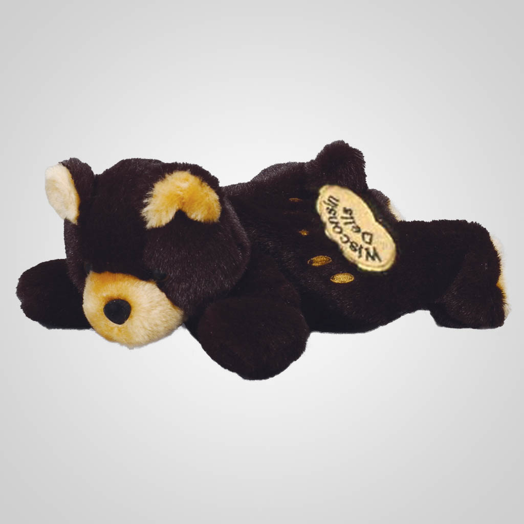 61922WIDELLS - Plush Black Bear, Wisconsin Dells