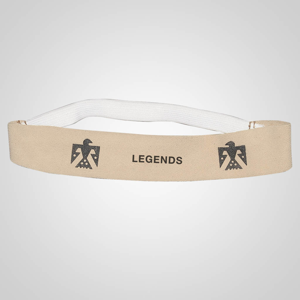 62354IM - Leather Thunderbird Headband, Name-Drop