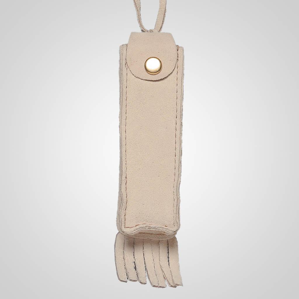 62357PL - Leather Neck Case, No Design, Plain