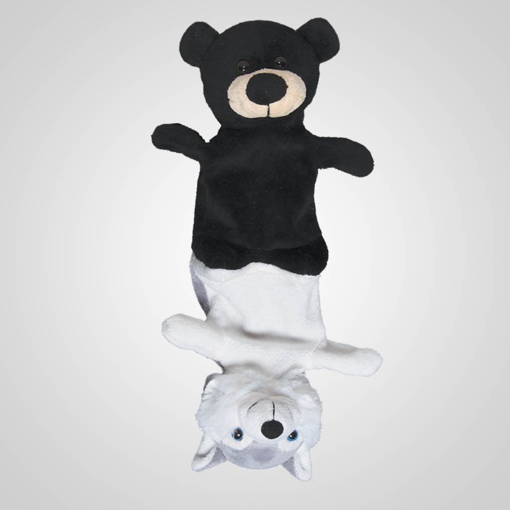 62742 - Plush Bear Husky Combo, Plain