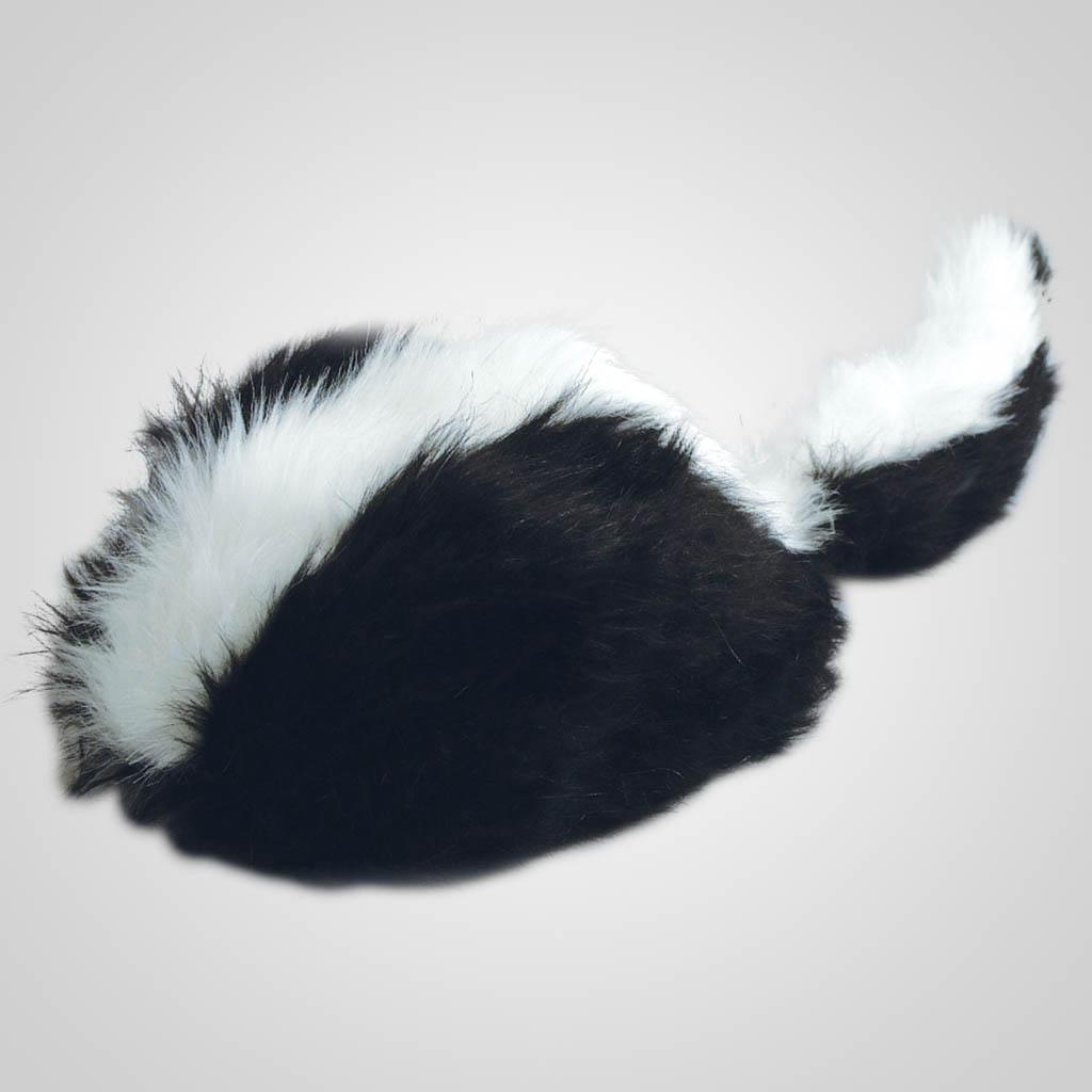 62802PL - Novelty Skunk Hat, Medium, Plain