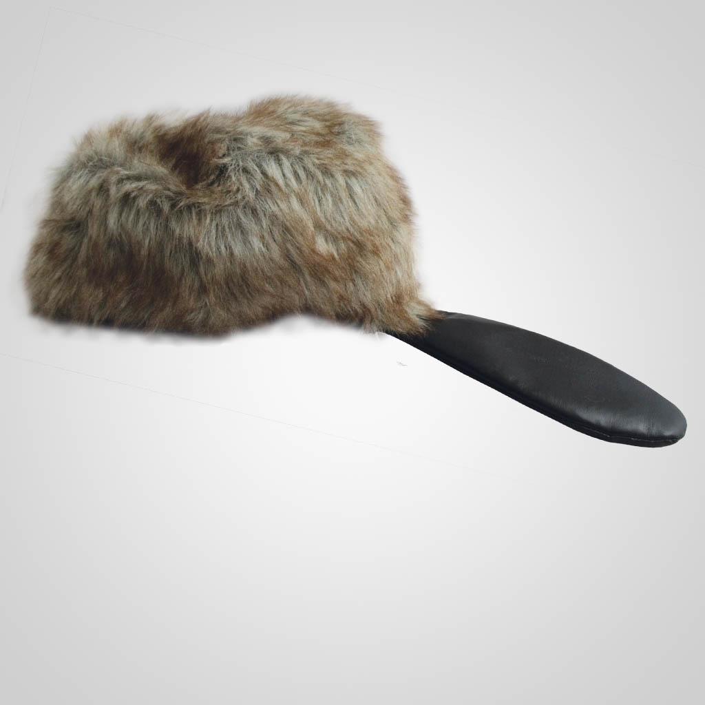 62805PL - Novelty Beaver Hat, Medium, Plain