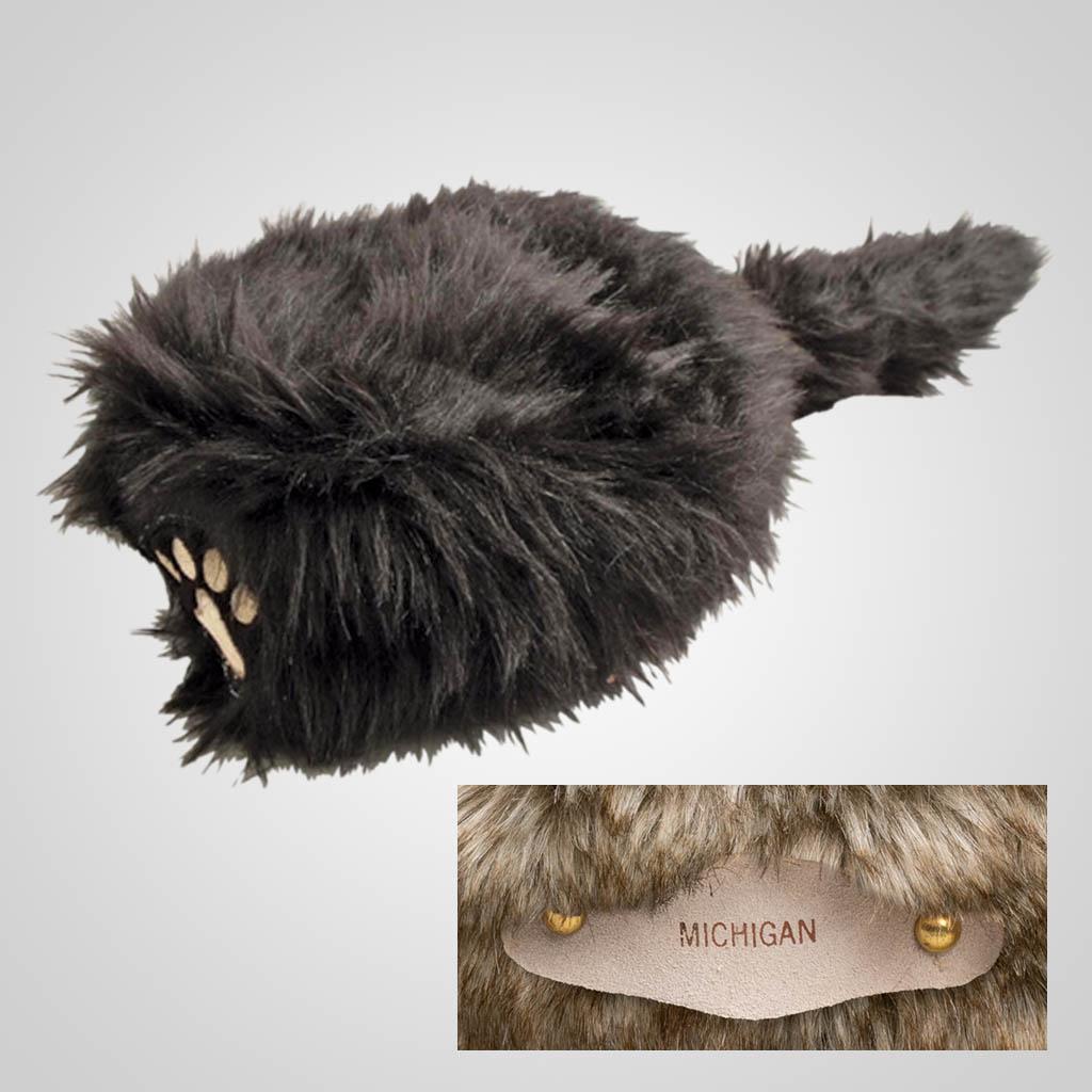 62808IM - Novelty Bear Hat, Medium, Name-Drop