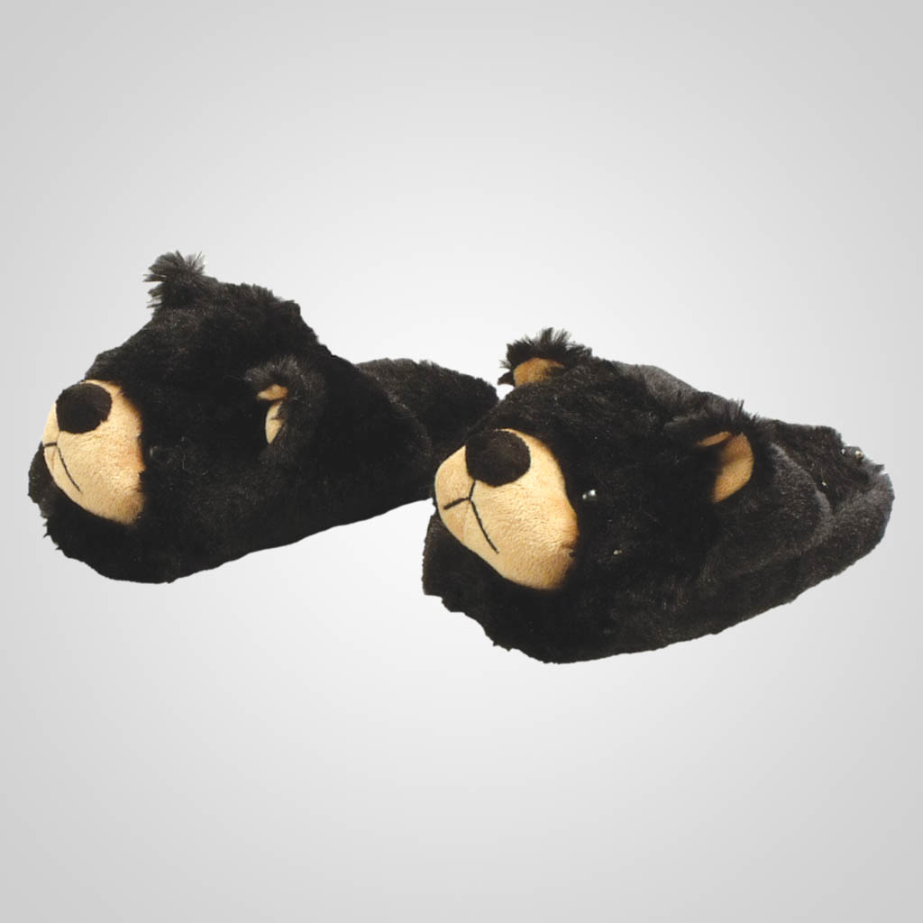63007 - Bear Plush Slippers