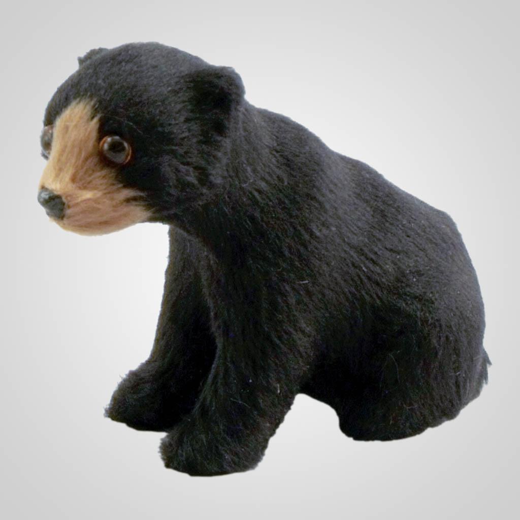 63018 - Synthetic Fur Decoration Bear