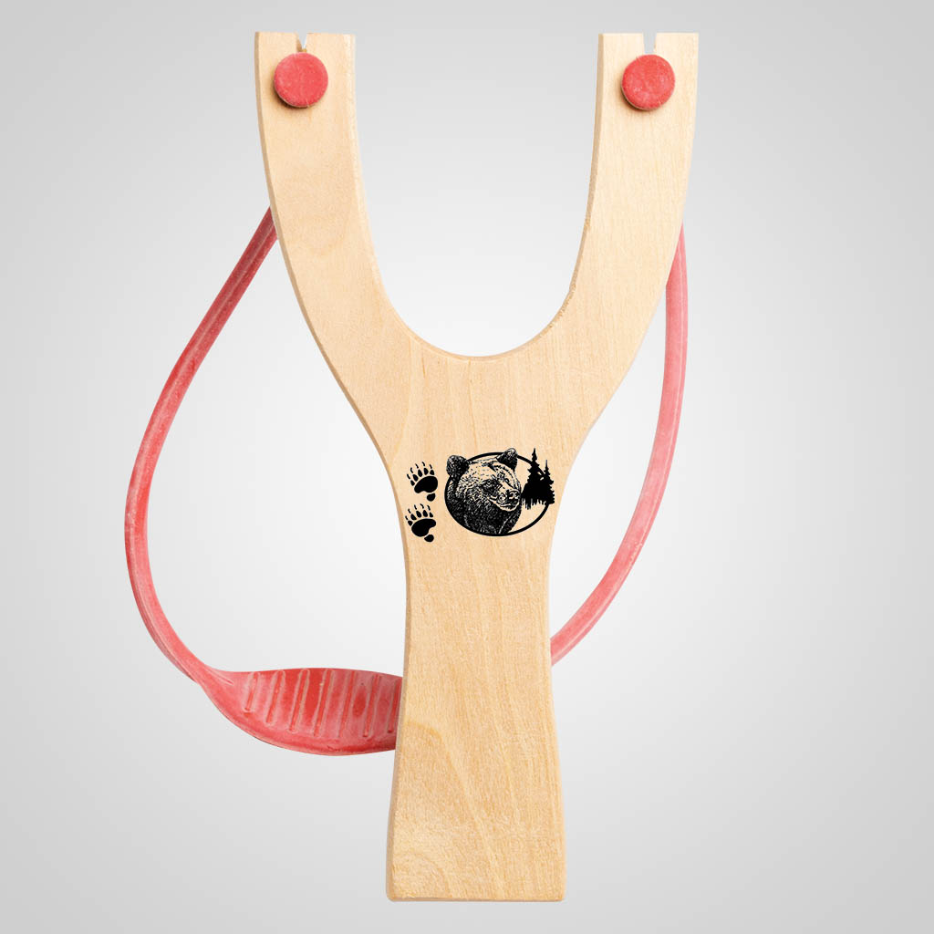 63040PL - Bear Tracks Slingshot, Plain