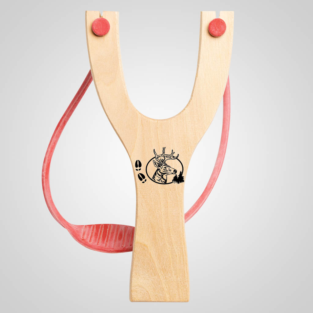 63041PL - Deer Tracks Slingshot, Plain