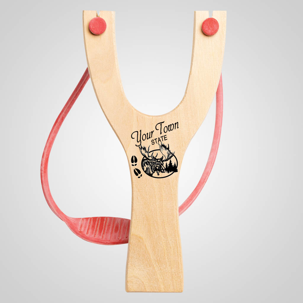 63043IM - Moose Tracks Slingshot, Imprinted