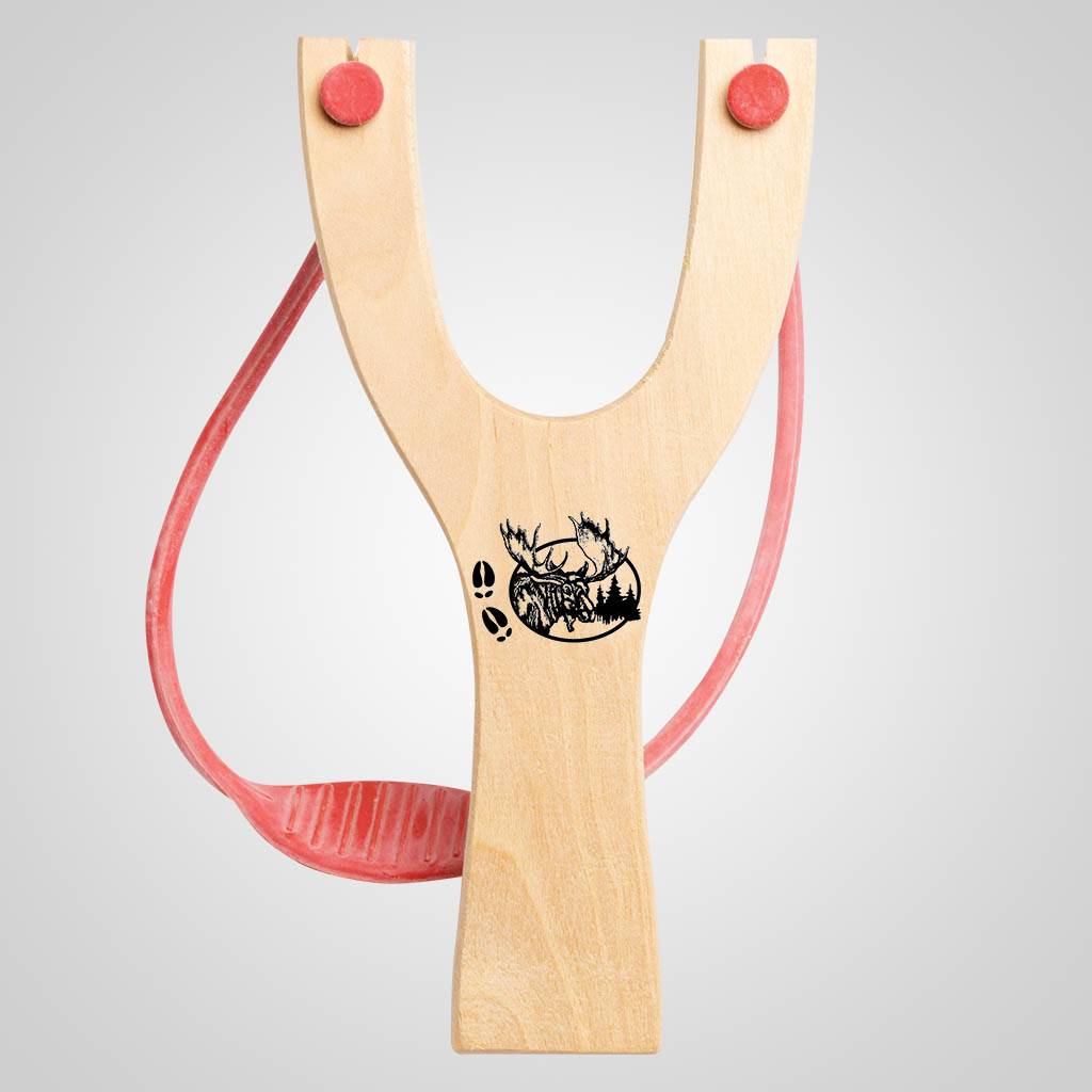 63043PL - Moose Tracks Slingshot, Plain