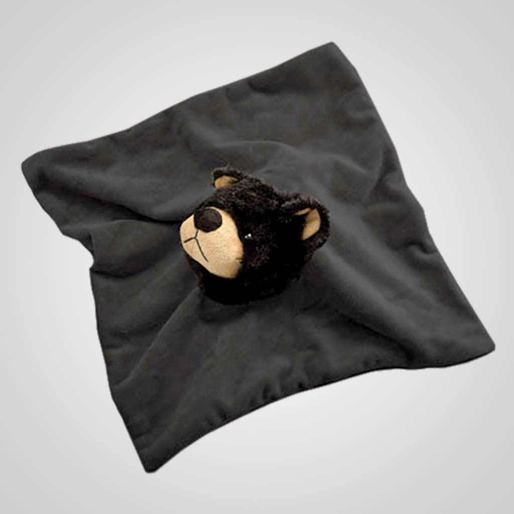 63054 - Blanket With Bear Head Plush