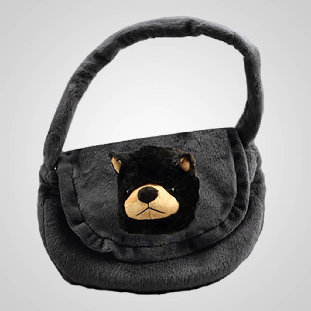 63056 - Plush Bear Purse, Plain