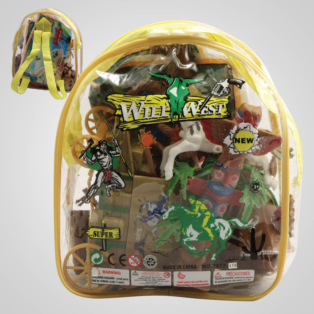 63073 - Wild West Play Set Backpack