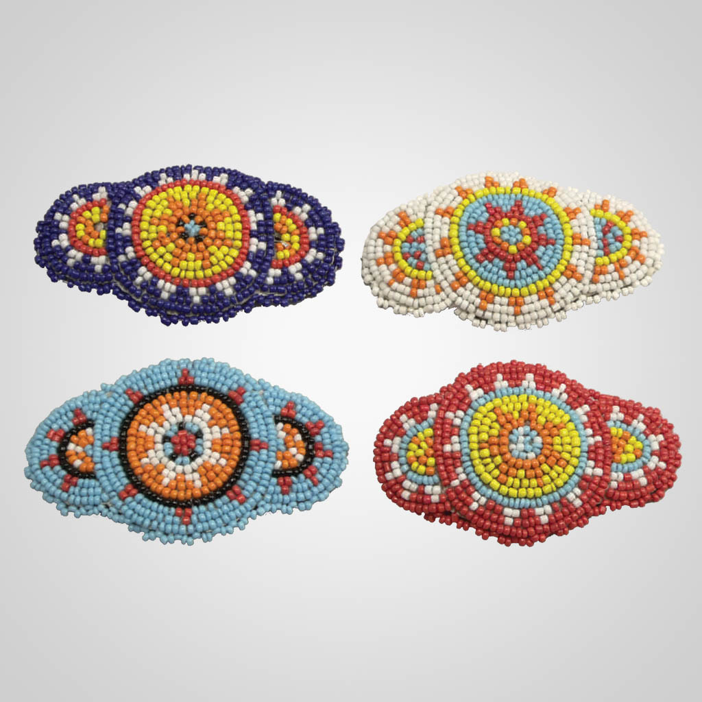 63079 - Beaded Barrette With Clip