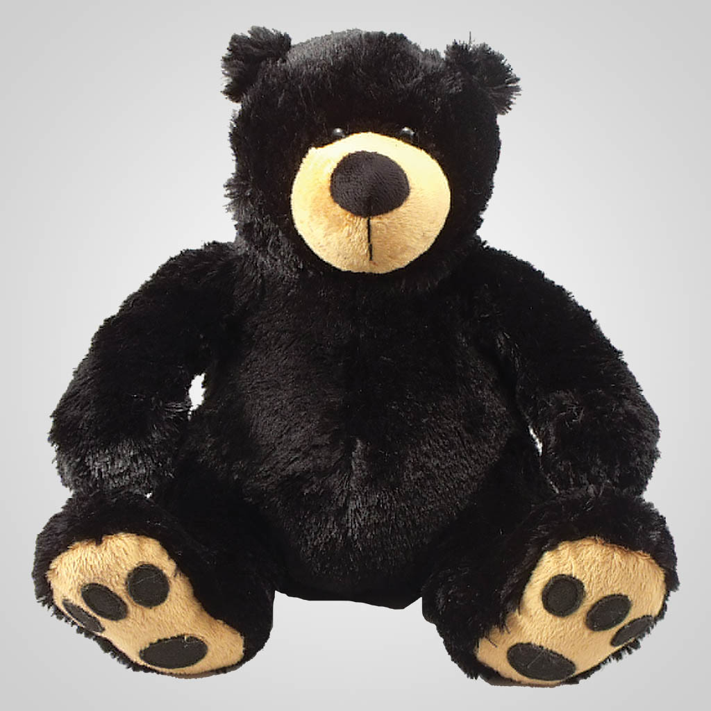63087 - Plush Bear With Embroidered Paws, Plain