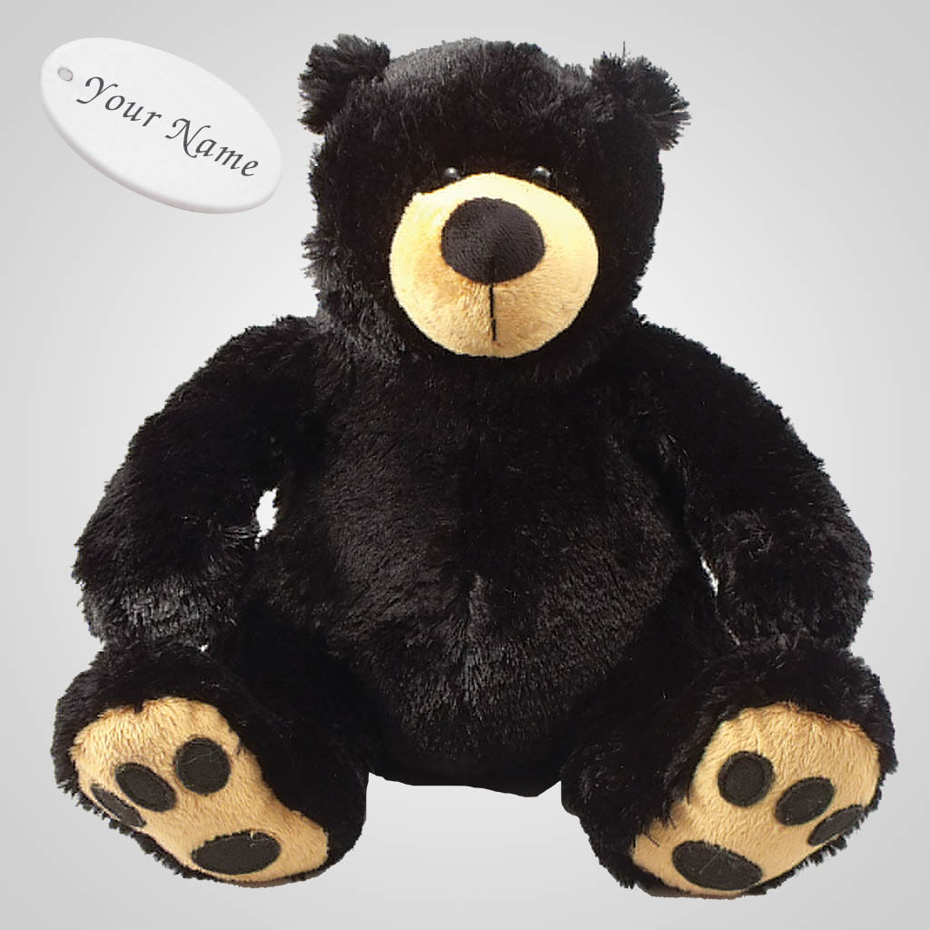 63087IM - Plush Bear With Embroidered Paws, Name-Drop
