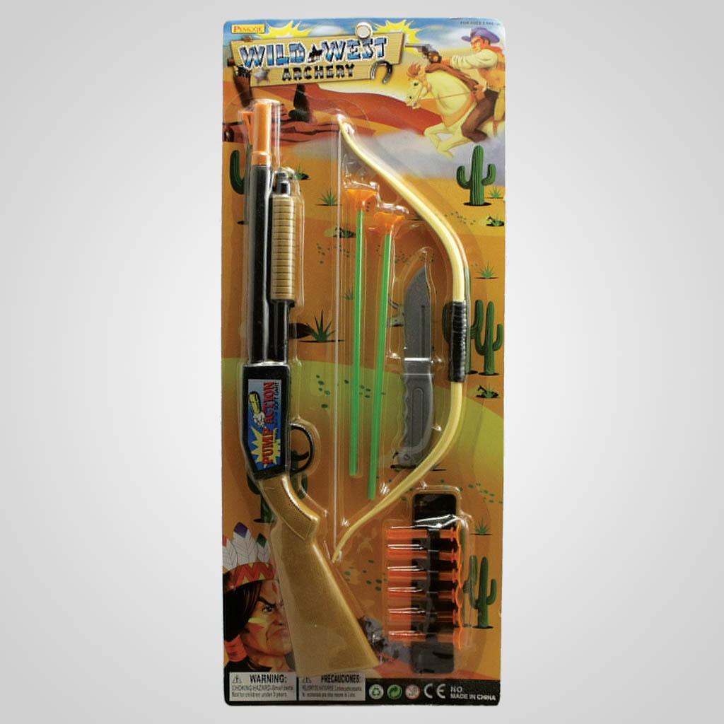 63118 - Western Rifle & Archery Set