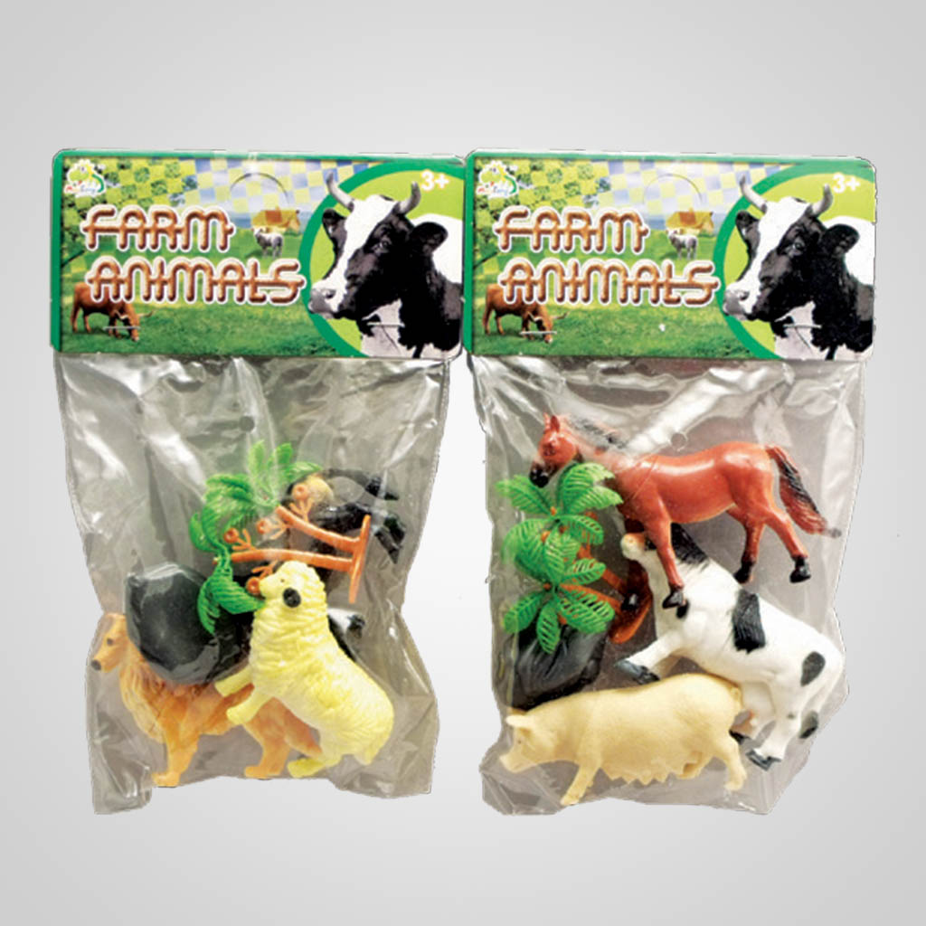 63126 - Plastic Farm Animals
