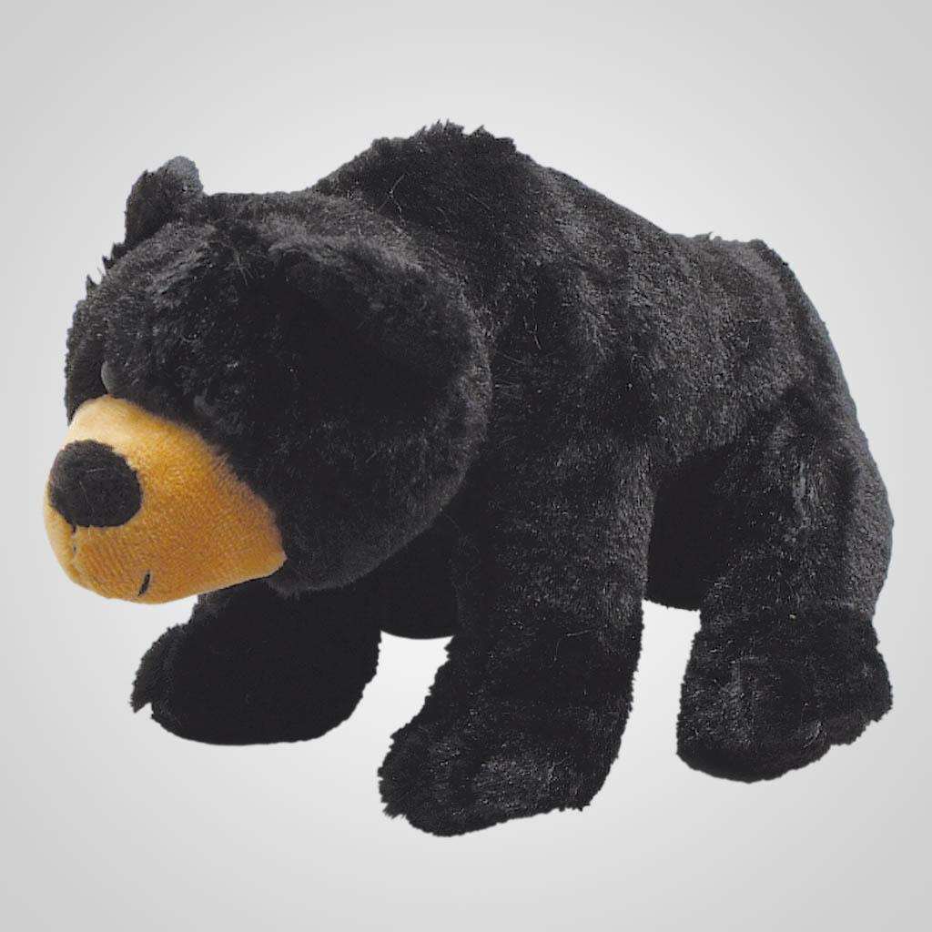 63145 - Plush Black Bear Walking