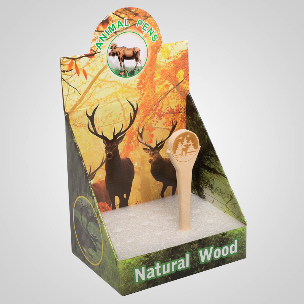 63215 - Wood Pen Display Box