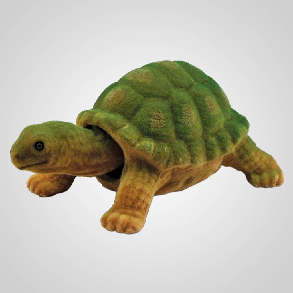 63219 - Flocked Bobbing Head Turtle
