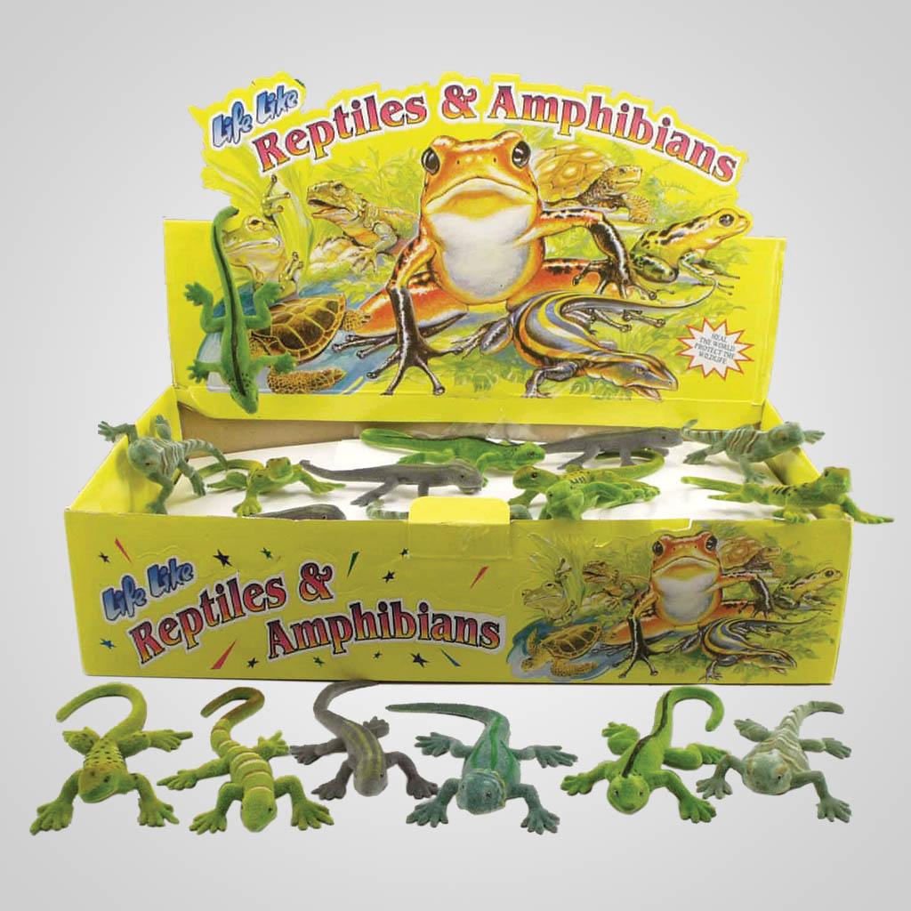 63221 - Flocked Reptiles & Amphibians