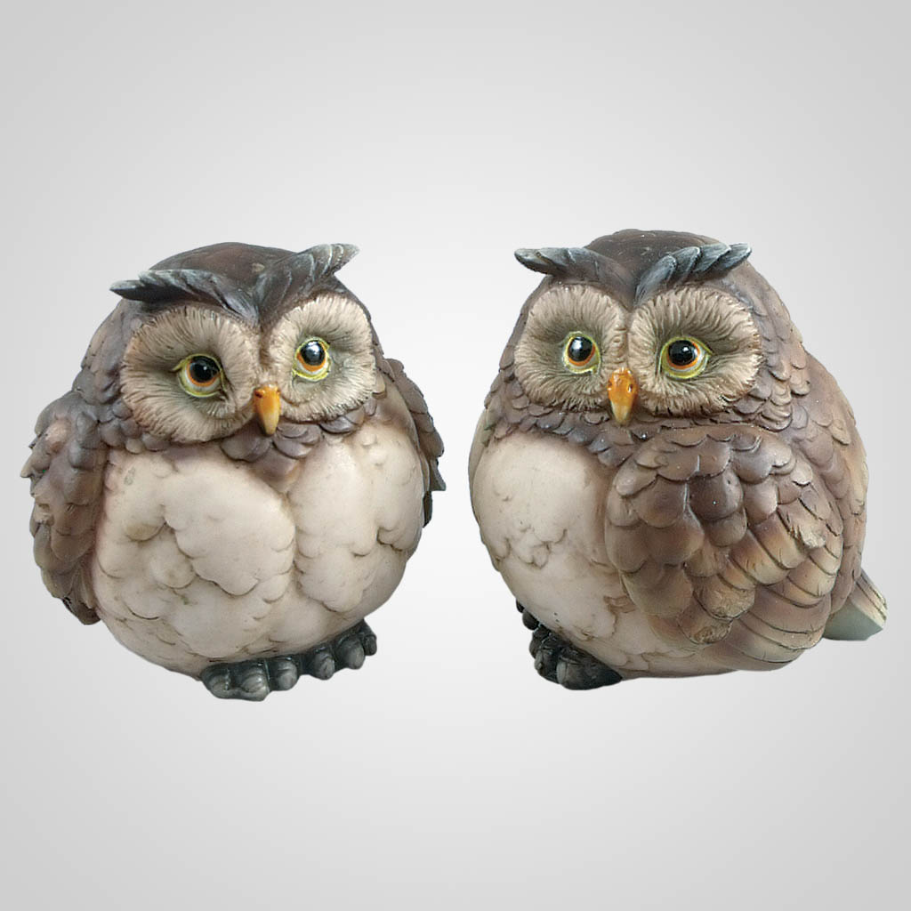 63300 - Owl Figurines