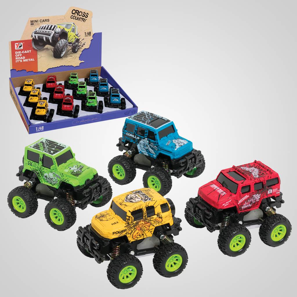 63319 - Pull-Back-Action Monster Trucks