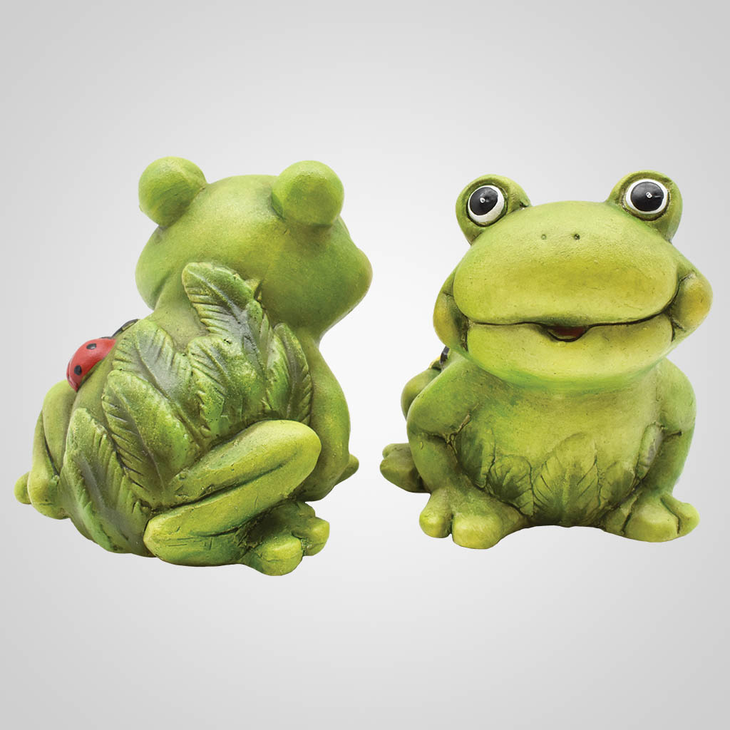 63339 - Comic Ceramic Frogs