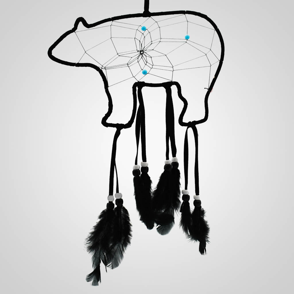 63343 - Bear-Shaped Dreamcatcher