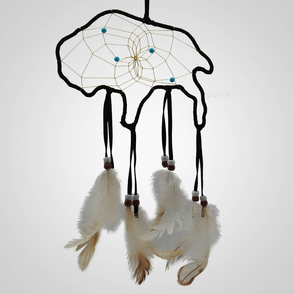 63344 - Buffalo-Shaped Dreamcatcher