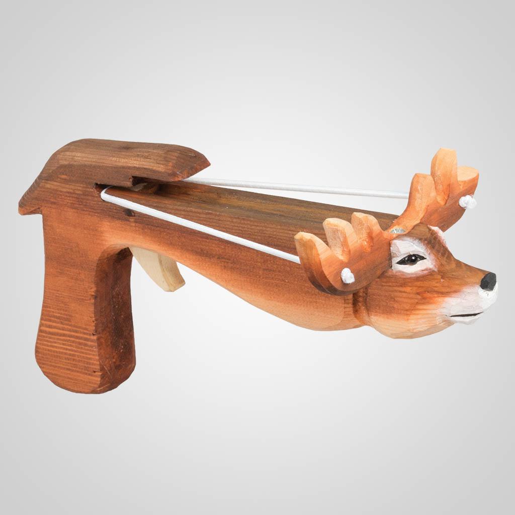 63398PL - Deer Marshmallow Shooter, Plain