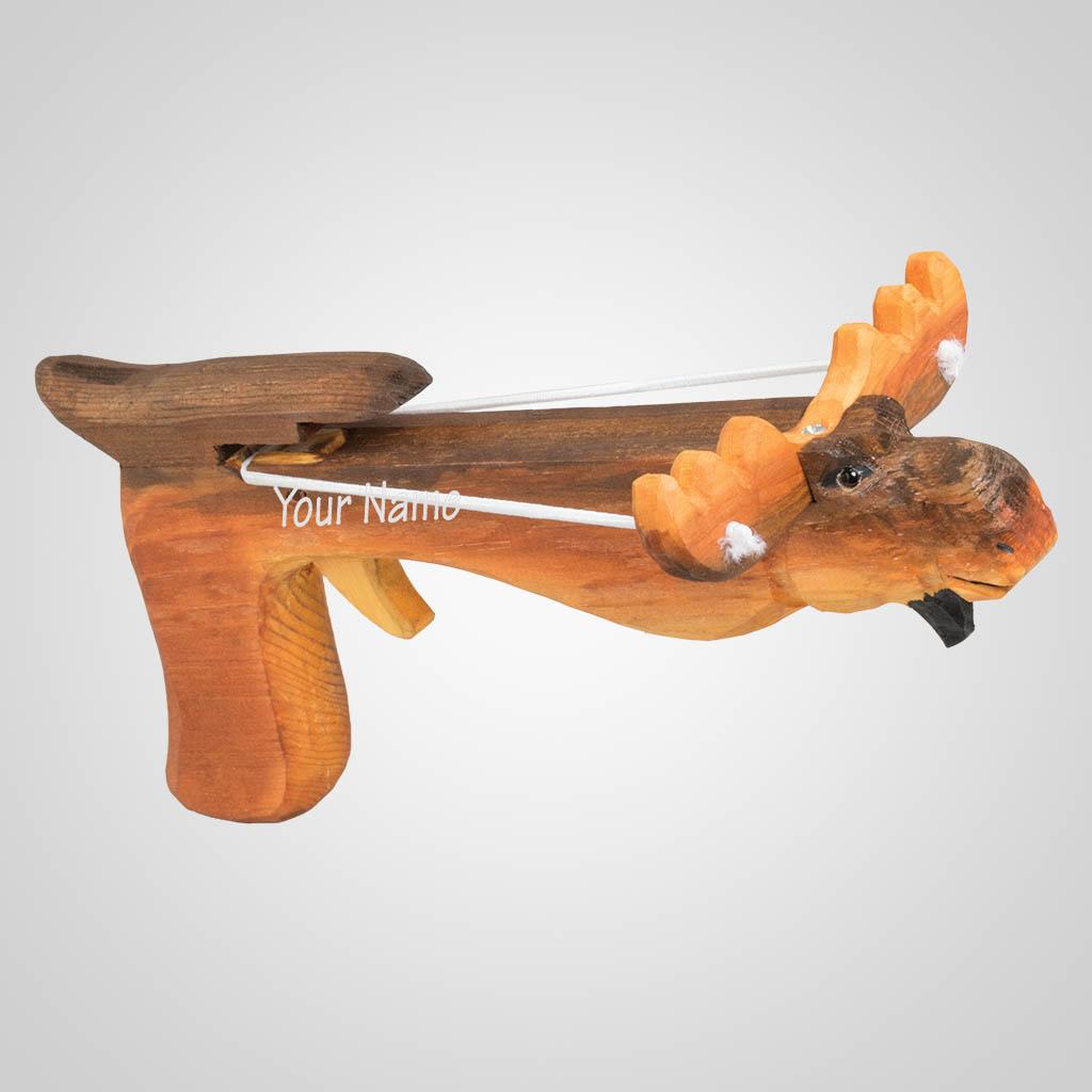 63399IM - Moose Marshmallow Shooter, Name-Drop