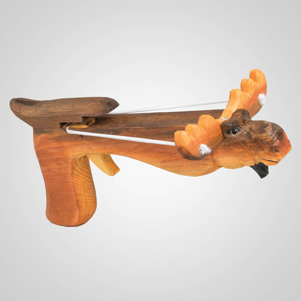 63399PL - Moose Marshmallow Shooter, Plain