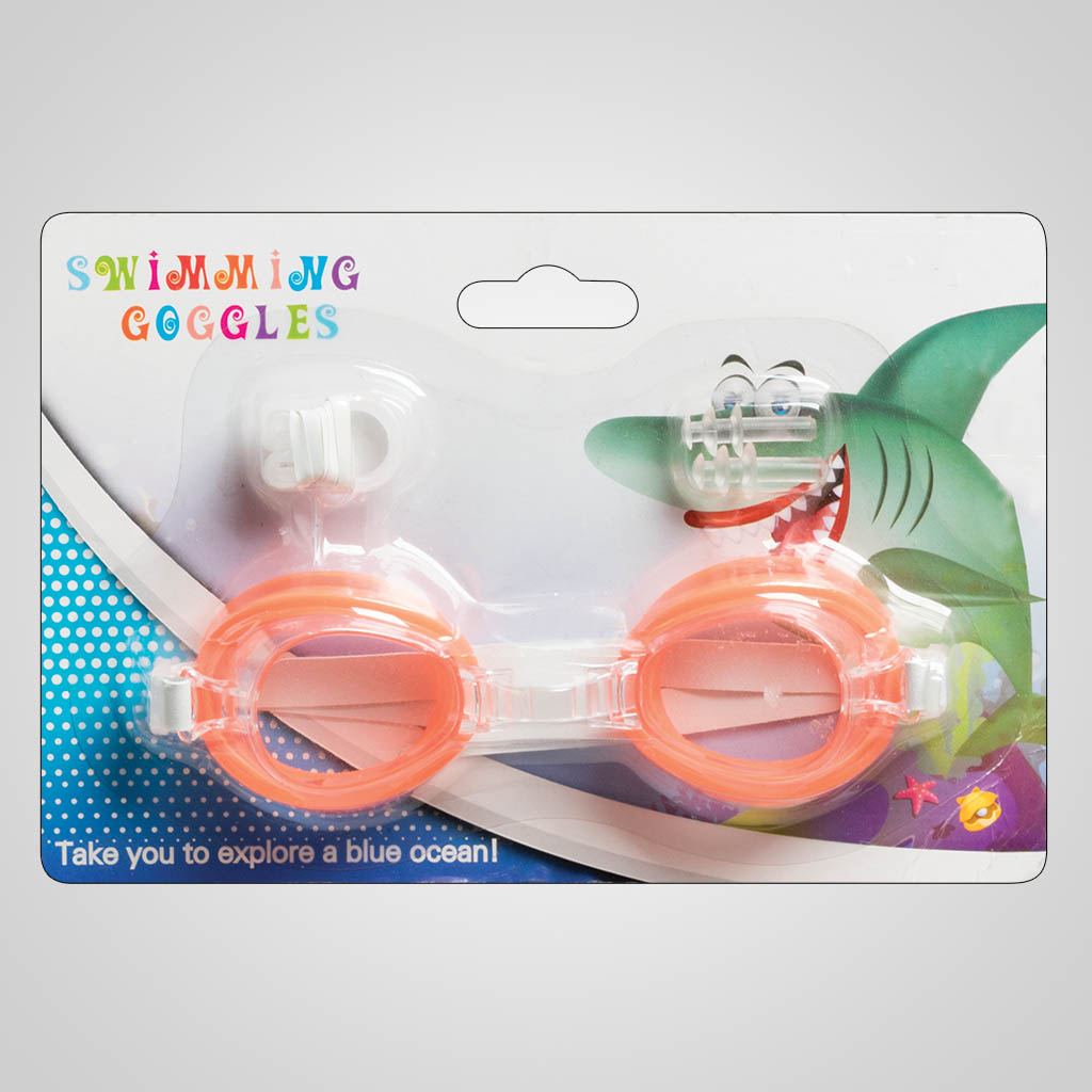 63425 - Swim Goggles, Nose & Ear Plugs